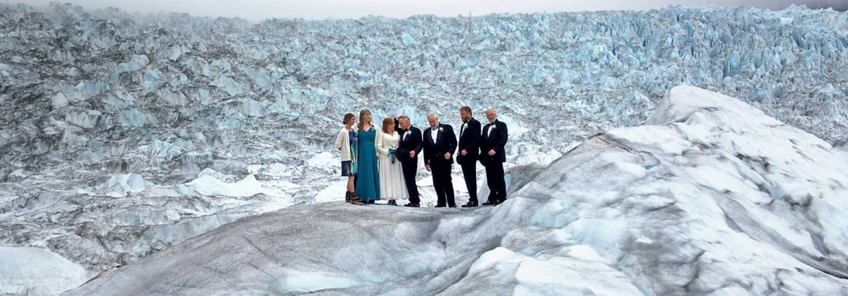 Wedding on Glacier