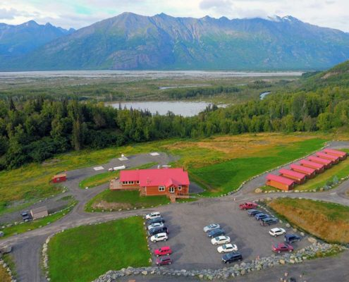 Alaska Cabins at Knik River Lodge.