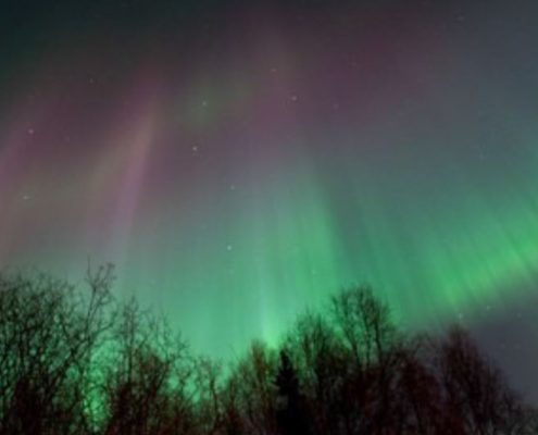 Aurora Borealis or Northern Lights viewing
