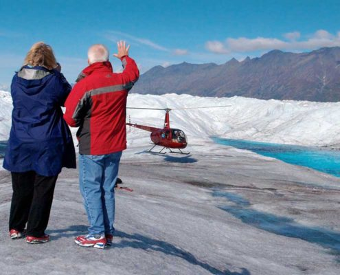 Knik River Lodge offers Alaska Glacier Tours