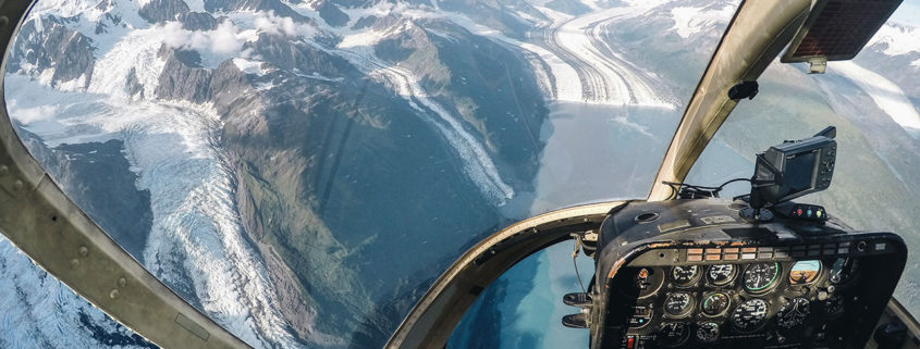 Knik Glacier from Helicopter
