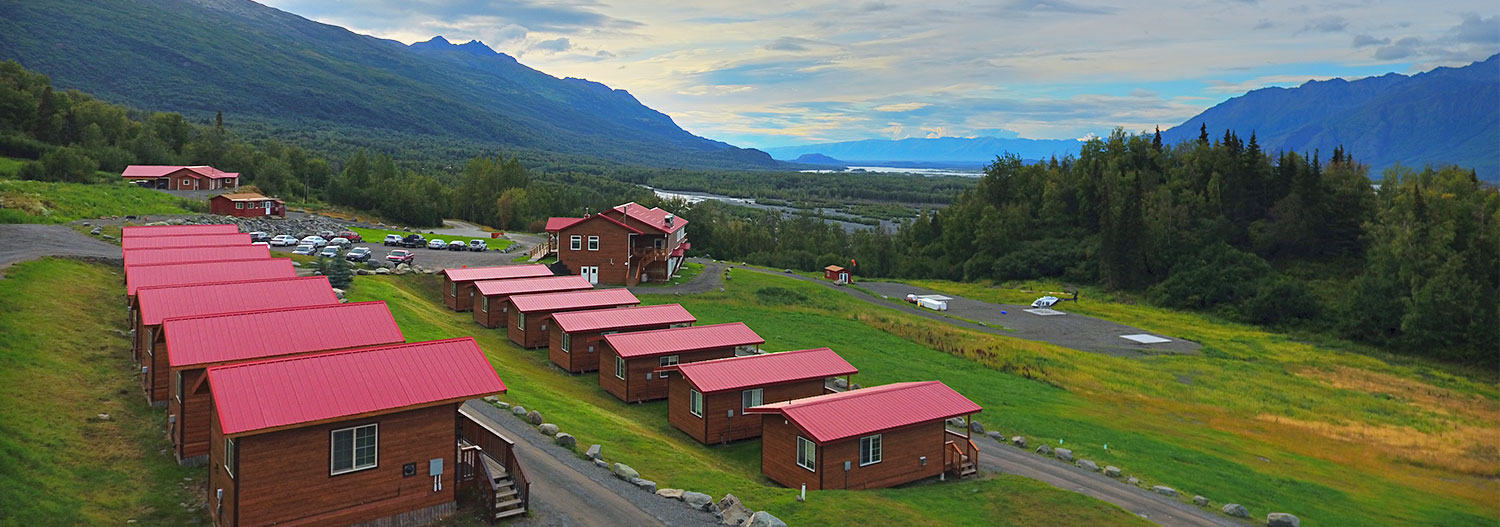 Knik River Lodge - Overview West