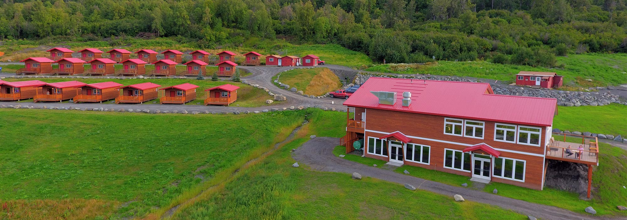 Knik River Lodge Cabins, Restaurant and Glacier Tours