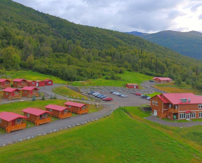 Knik River Lodge - Overview Southwest