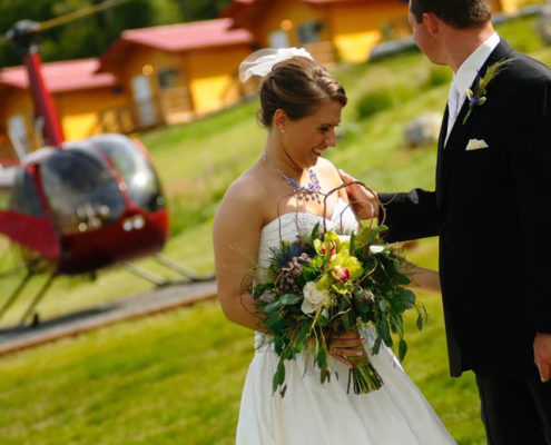 Knik River Lodge Wedding