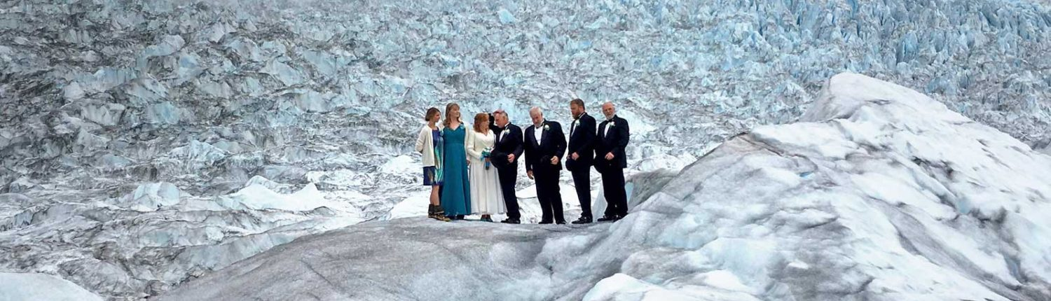 Plan your Alaska Wedding on a Glacier